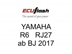 ECUflash Yamaha R6 RJ27 BJ17-