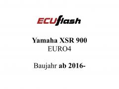 ECUflash Yamaha YAM XSR 900 EURO4