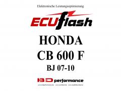 ECUflash Honda CB600F BJ 07-10