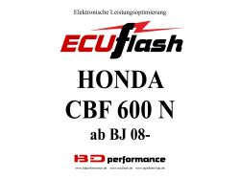 ECUflash Honda CBF600 N BJ 08-