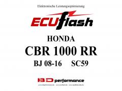 ECUflash Honda CBR1000RR BJ08-16 SC59