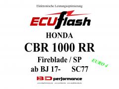 ECUflash Honda CBR1000RR BJ 17-  SC77