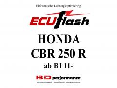ECUflash Honda CBR 250R BJ 11-17