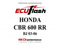 ECUflash Honda CBR600RR BJ 03-06