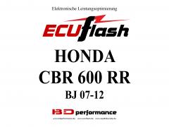 ECUflash Honda CBR600RR BJ 07-12