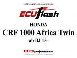 ECUflash Honda CRF1000 AFRICA TWIN  BJ 15-17
