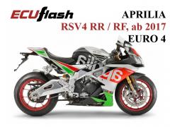 ECUflash - Aprilia RSV4 RR und RF, BJ 2017 - EURO 4