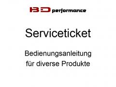 Serviceticket Bedienungsanleitung