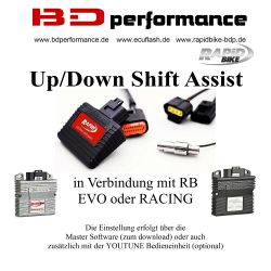 RB Up/Down Shift Yamaha YZF R1  BJ 09->11