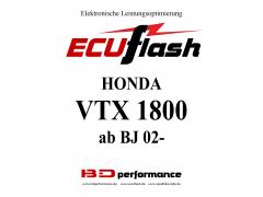 ECUflash Honda VTX1800 BJ02-