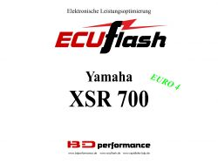 ECUflash Yamaha YAM XSR 700 EURO4
